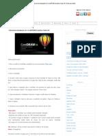 Tutorial de instalação do CorelDRAW Graphics Suite X6 _ Artes para Web