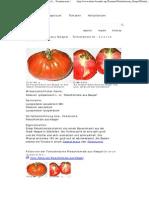 Fleischtomate Aus Neapel - Solanum Lycopersicum L
