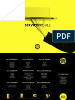 The Brand Bee - Service Profile 2013