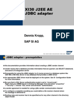 SAP XI 3.0_JDBC