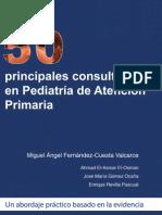 Las 50 Principales Consultas en Pediatria