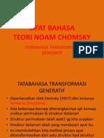 3. Sifat Bahasa Teori Noam Chomsky
