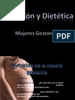 Nutricion y dietetica- Mujeres Gestantes - David Cruz. Jeison Briceño. Sneider molina. David Quiroz -Grupo 4916709