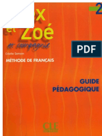 Alex Et Zoe 2 Guide Pedag