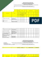 Formato Para Diagnostico Del Panorama de Riesgos