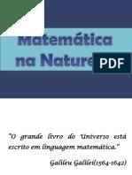 A Matemática e a Natureza