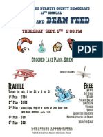 2013 Bean Feed Flyer