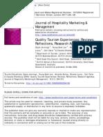 2009_Quality Tourism Experiences