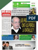 Le Soir d Algerie Du 01.09.2013