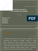 Revolução Industrial e o Inchaço das Cidades