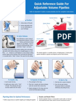 Adjustable Pipette Quick Reference Guide