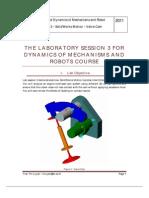 Kinematics and Dynamics - Lab3.pdf