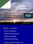 Ingenieria de Procesos y Gestion Ambiental Para El Desarrollo Sostenible