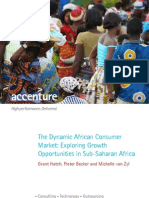 Accenture the Dynamic African Consumer Market Exploring Growth Opportunities in Sub Saharan Africa
