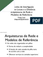 2 - Arquiteturas de Rede e Modelos de Referência