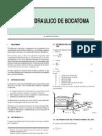Diseño Hidraulico Bocatoma