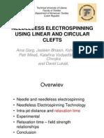 needleless electrospinning