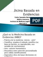 Medicina Basada en Evidencias 2013