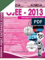 Www.odishajee.com Information Brochure Ojee 2013