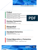 Boletin Oficial Liga Universitaria