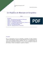 Lei Organica - Seropedica