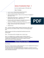 Preliminary Examination Paper IAS