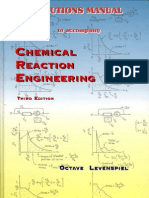 Chemical Reaction Engineering Solutions Manual - Octave Levenspiel