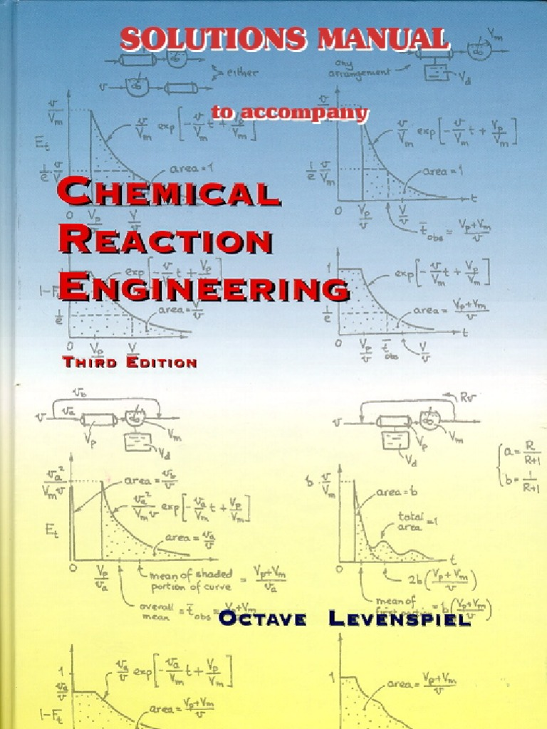 chemical reaction engineering solutions manual