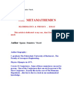 THE   METAMATHEMATICS