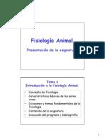 2012_13-TEMA-01 - INTRODUCCIÓN A LA FISIOLOGÍA ANIMAL