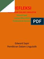 4. Refleksi Pemikiran Dlm Linguistik