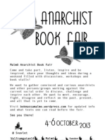 Malmö Anarchist Bookfair English Flyer