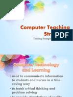 Computer Teaching Strategies