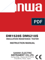 Dm5218s Insulation Tester