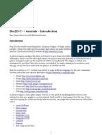 Box2D C++ Tutorials - Introduction