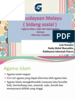 Slaid Budaya - Bahasa, Agama Dan Nilai