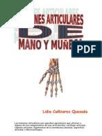 Lesiones Articulares Mano y Muc2a6eca