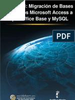 Migración de bbdd Access a Base y MySQL