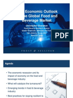 2009 Economic Outlook for the Global Food and Beverage Market - Apr09