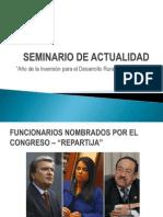 Seminario de Actualidad - Agosto 2013 - Semestral Uni