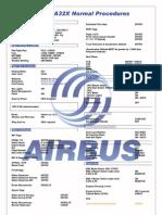 Airbus A32X Checklist1