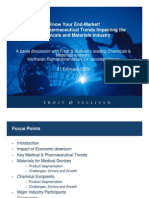 Medical & Pharmaceutical Trends Impacting the Chemicals and Materials Industry - Feb09
