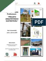 Curso Projeto Arquitetônico Sustentável