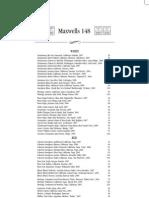 Wine Menu - Maxwells 148 - Natick, MA