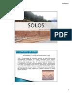 Geologia Mineralogia e Solos Aula 1