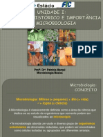 I. Histórico, conceito e importância da Microbiologia - Cópia