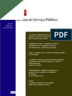 As Reformas Administrativas