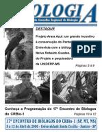 2006. Entrevista Jornal Do Cons. Reg. de Biologia