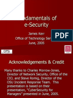 E Security ppt
