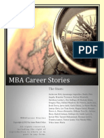 MBA Career Stories
